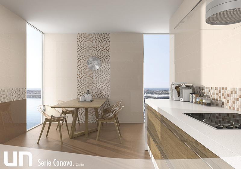 Canova unicer ceramica - Cenefas cocinas modernas ...